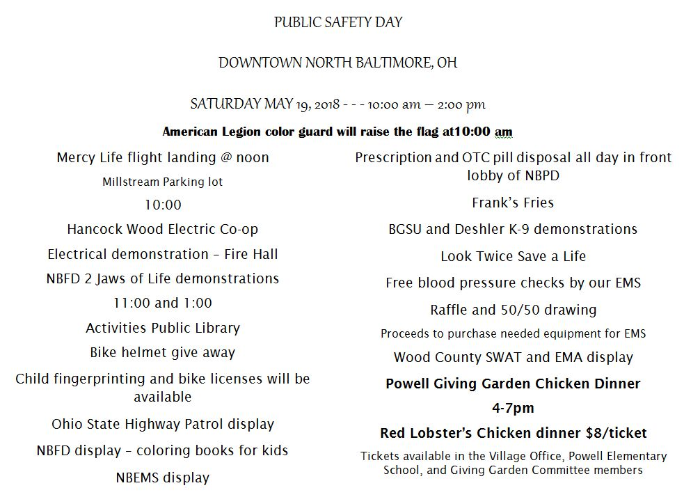 YOU ARE INVITED - NB Public Safety Day